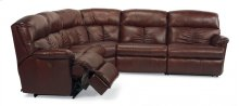 Triton Leather Power Reclining Sectional