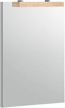 Mirror - Bright Oak/Glass Crème