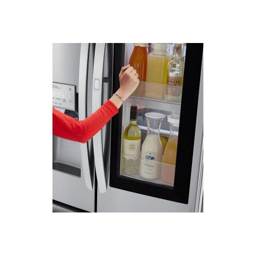 26 cu  ft  Smart wi-fi Enabled InstaView Door-in-Door® Refrigerator