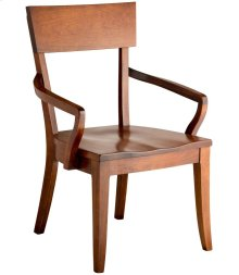 Bella Arm Chair - Wood Seat