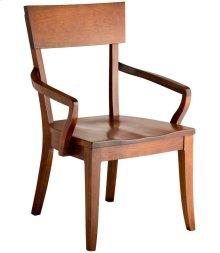 Bella Arm Chair - Wood Seat