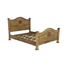 Queen Promo Bed W/Star