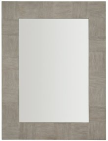 Linea Mirror in Cerused Greige (384)