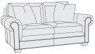 Grandview Loveseat in Mocha (751) Product Image