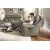 Additional Mystic Leather Power Gliding Recliner with Power Headrest