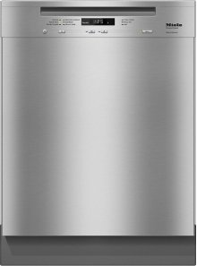 G 6625 U AM Pre-finished, full-size dishwasher with visible control panel, cutlery basket, water softener and 6 Programs