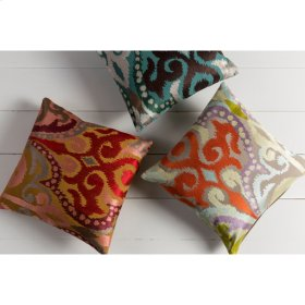 """Ara AR-073 18"""" x 18"""" Pillow Shell with Polyester Insert"""