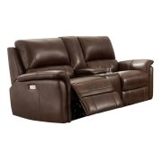Power Reclining Love Seat in Ziggy-Cocoa Product Image
