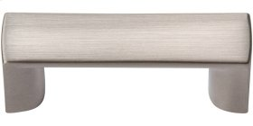Tableau Squared Handle 1 7/16 Inch - Brushed Nickel