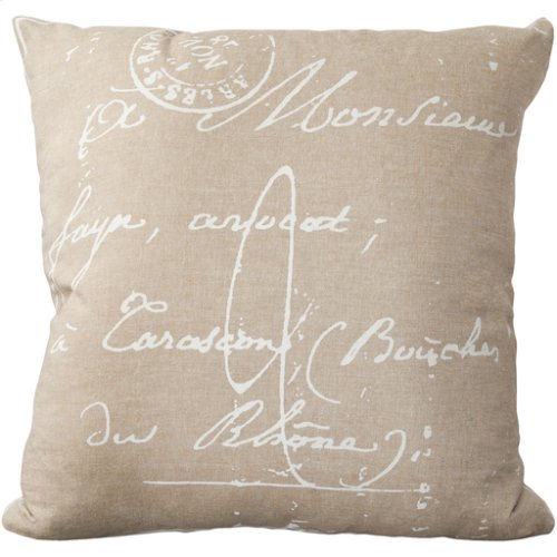 """Montpellier LG-511 18"""" x 18"""" Pillow Shell Only"""