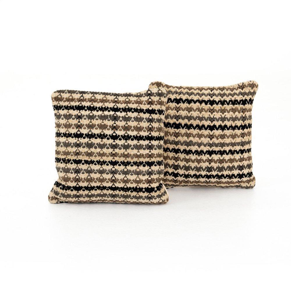 """20x20"""" Size Kara Pattern Pillow, Set of 2"""