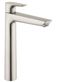 Brushed Nickel Talis E 240 Single-Hole Faucet without Pop-Up, 1.2 GPM