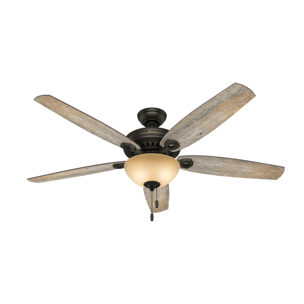 Valerian with Light 60 inch Ceiling Fan  BRITTANY BRONZE
