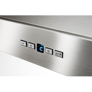 """Colonne - 36"""" Stainless Steel Chimney Range Hood with a choice of Exterior or In-line blowers"""