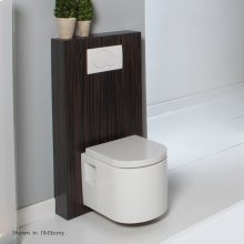 Wood box for Geberit in-wall tank & carrier, must be secured to the wall. Designed for toilet # 2958, 4278, 5051WC and 6058.