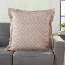 "Life Styles Bx056 Rose 1'10"" X 1'10"" Throw Pillows"
