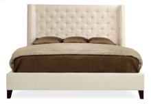 "Queen-Sized Maxime Wing Bed (68-1/2"" H) in Espresso"