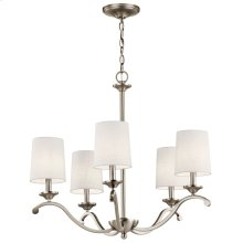 Versailles 5 Light Chandelier Antique Pewter