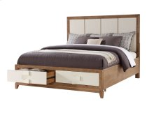 Complete King 6/6 Panel Bed W/storage Kit