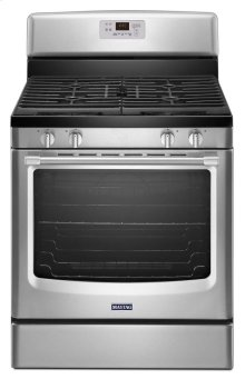Maytag® 30-inch Wide Gas Range with Precision Cooking™ System - 5.8 cu. ft. - Stainless Steel