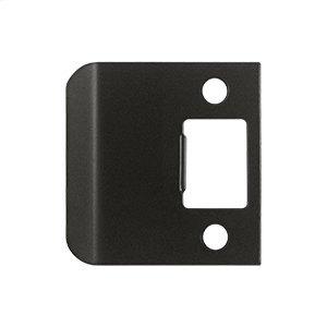"""Extended Lip Strike Plate, 2 1/4"""" Overall - Oil-rubbed Bronze"""