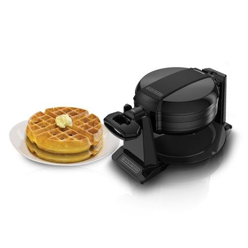 Double Flip Waffle Maker