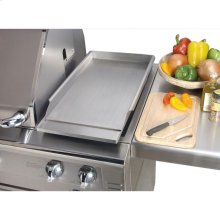 GRIDDLE FOR GRILL MOUNTING
