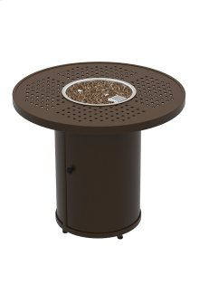 """Boulevard 30"""" Round Fire Pit, Manual Ignition"""