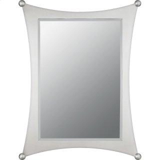 Jasper Mirror in Brushed Nickel