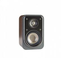 American HiFi Home Theater Compact Satellite Surround Speaker in Classic Brown Walnut