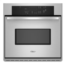 Stainless Steel Whirlpool® 30 in. Single Wall Oven