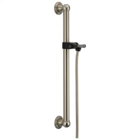 Stainless Adjustable Slide Bar / Grab Bar Assembly