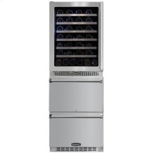 Marvel Professional Wine Cellar / Refrigerated Drawer Combination Unit
