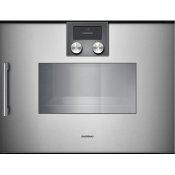 200 Series Combi-steam Oven 24'' Gaggenau Metallic, Door Hinge: Right, Door Hinge: Right