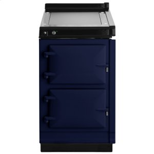 "AGAAGA Hotcupboard 20"" Electric Dark Blue with Stainless Steel trim"