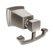 Boardwalk brushed nickel robe hook