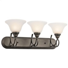 Stafford Collection Stafford 3 Light Bath Light in Olde Bronze
