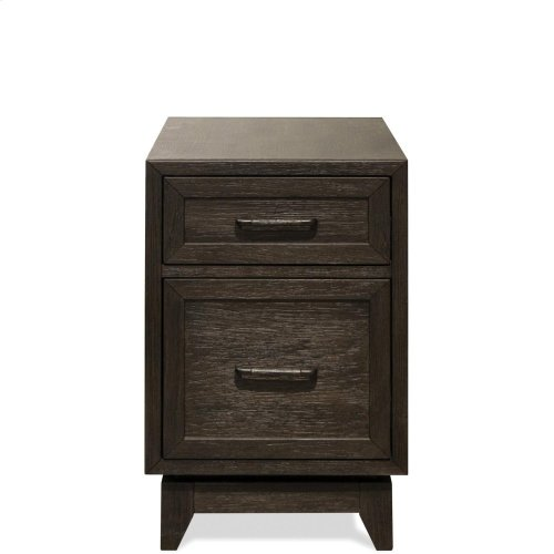 Vogue - Chairside Table - Umber Finish