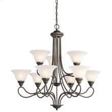 Stafford Collection Chandelier 9Lt OZ