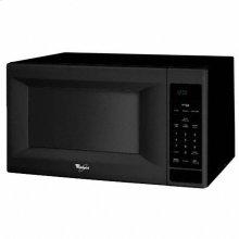 Black-on-Black Whirlpool® 1.5 cu. ft. Countertop Sensor Microwave Oven
