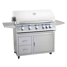 """Pro Series Fully Assembled Door & 2-Drawer Combo Cart for 40"""" Sizzler & Sizzler Pro"""