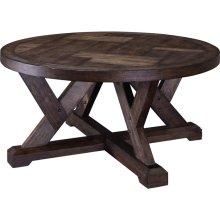 Pieceworks Round Cocktail Table