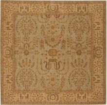 Hard To Find Sizes Grand Parterre Pt02 Quary Square Rug 7' X 7'