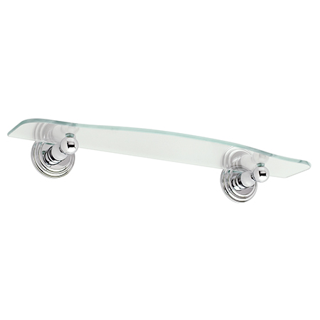 "Polished-Chrome 18"" Shelf"