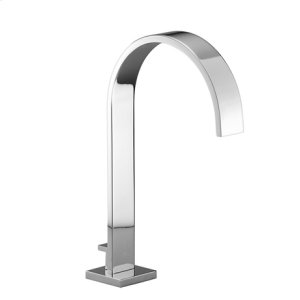 Tub spout with diverter for deck-mounted installation - chrome
