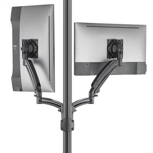 Chief ManufacturingKontour K1P Dynamic Pole Mount Reduced Height, 2 Monitors