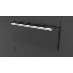 "Fulgor Milano30"" Pro Warming Drawer - Glossy Black"