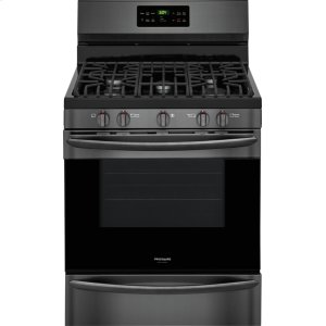 Gallery 30'' Gas Range - BLACK STAINLESS STEEL