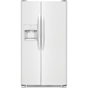 22.1 Cu. Ft. Side-by-Side Refrigerator - PEARL WHITE