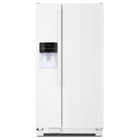 Amana® Side-by-Side Refrigerator with Deli Drawer - White
